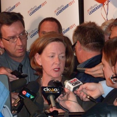 Alberta, I give you Alison Redford, Person of the Year for 2014!