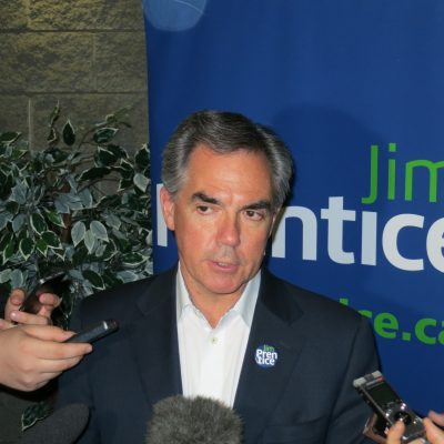 Alberta Premier Jim Prentice is weaker today because of the Wildrose floor-crossing fiasco