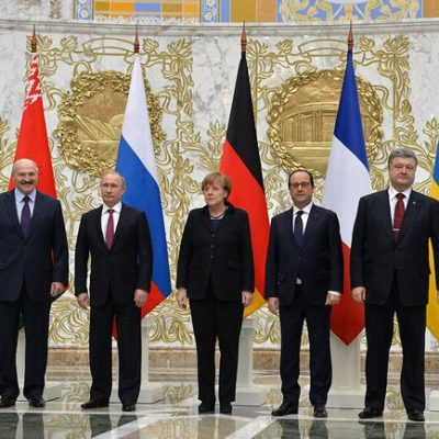Those Canadian troops in Ukraine? The Minsk II Agreement says they need to be pulled out right now
