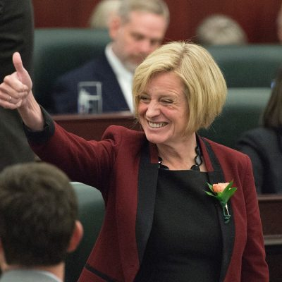 The Speech from the Throne: NDP's new political funding rules turn the Tories' world upside down