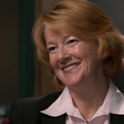 Alison Redford is back, relaxed and ready to rumble with anyone who blames her for her former party's problems