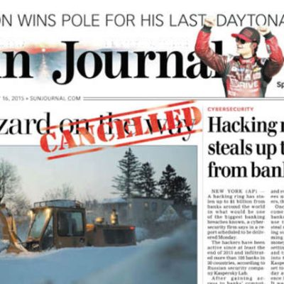 Code Crossover: How long before the Edmonton Journal and the Edmonton Sun are merged?