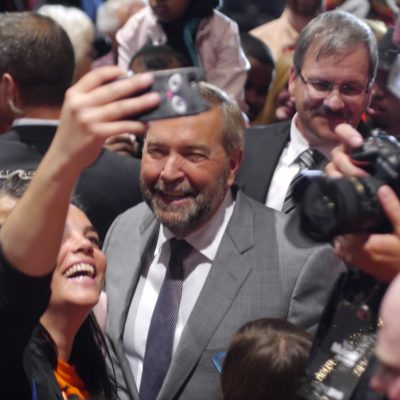 Thomas Mulcair comes to Edmonton bringing the promise of flinty eyed fixes to our national malaise