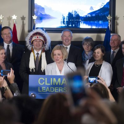 Alberta's climate-change strategy: Rachel Notley builds a coalition of big business, environmentalists and civil society