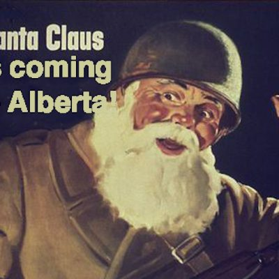 Christmas in Wildrose Country: That noise on the roof may not be Santa Claus! It could be the UN, here to steal your turnips!