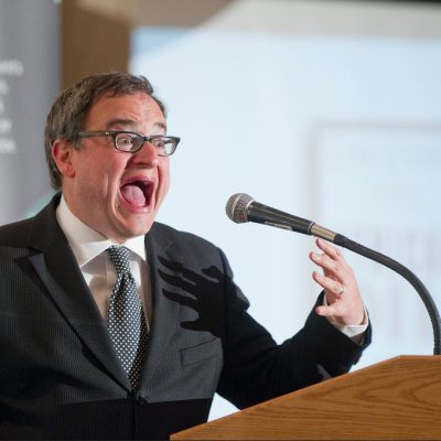 Go figure! Ezra Levant, the Pied Piper of right-wing-nuttery, has the mainstream media singing his tune!