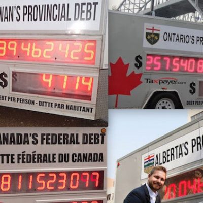 What's behind 'Canadian Taxpayers' Federation' campaigns like its stunt calling for rollbacks in Alberta teachers' pay?