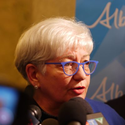 Former Alberta Health Services CEO's accusations of NDP 'interference' raise more questions than they answer