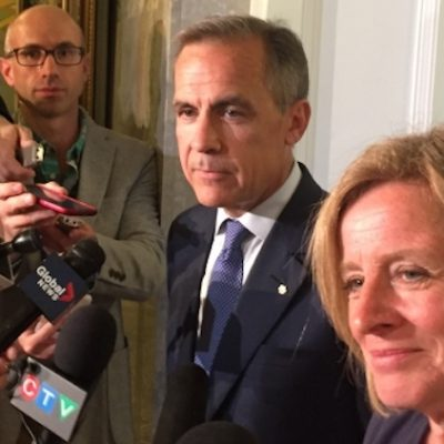 NDP environmental policies: Who're ya gonna believe? Mark Carney or Rick Strankman?