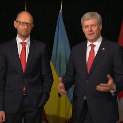 Ottawa won't say if former Ukrainian prime minister is now a Canadian citizen, as Russian media report