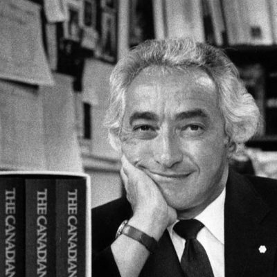 Mel Hurtig, a great Canadian – and, full of beans, as we used to say