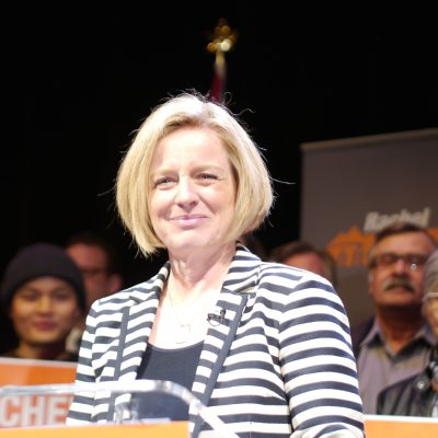 Rachel Notley does remarkably well in face of unrelenting campaign of vilification … Sun newspapers? Not so much …