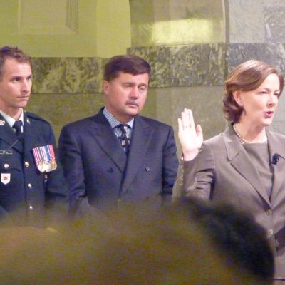 Five years ago today, Alison Redford was sworn in as premier of Alberta … and the wheels fell off the Tory bus