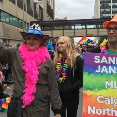 It's official: Sandra Jansen is now running for the Progressive Conservative leadership