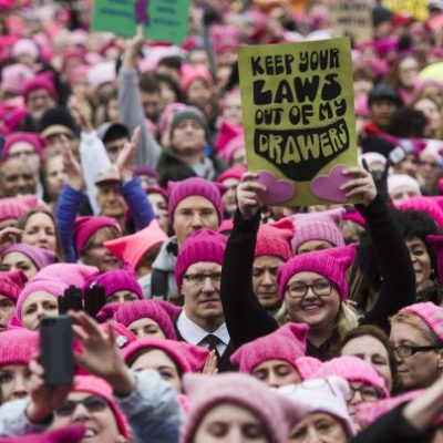 Is a Pink Revolution beginning in America? This genie will be hard to put back in its bottle!