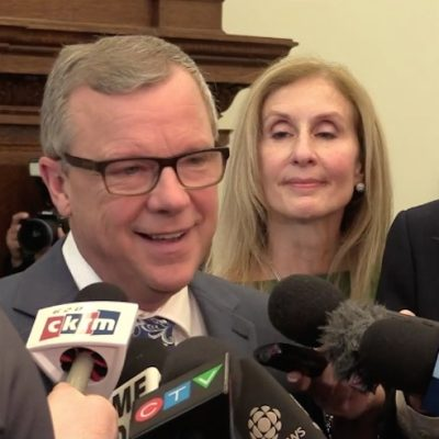 It was wall-to-wall Brad Wall as premier exits, stage right, before wheels fall off Saskatchewan Party bus
