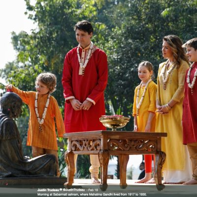 Trudeau in India, Part I: PM's family goes full Bollywood; Conservatives freak out; some alterations suggested