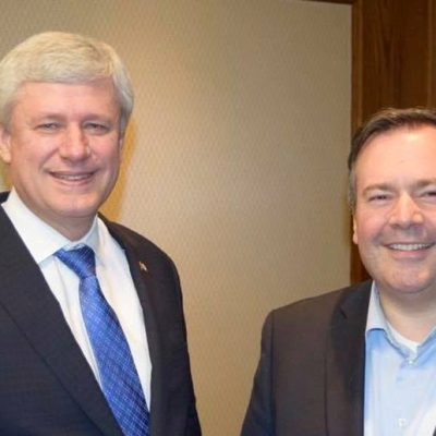 The two faces of Jason … how's managing simultaneous provincial & federal political campaigns going for Janus Kenney?