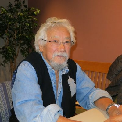 If there was ever a time for the U of A to stick to its guns and welcome David Suzuki to Edmonton, this is it!