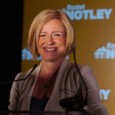 Alberta then and now: Marking the third anniversary of the unexpected victory of Rachel Notley and the NDP