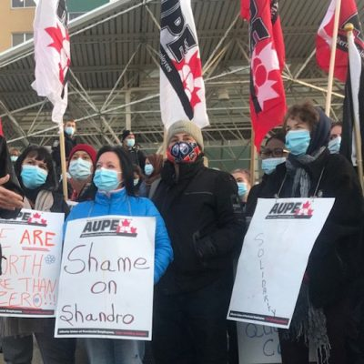 UCP plan to lay off 11,000 public sector health workers sparks wildcat walkouts at 45 Alberta health facilities