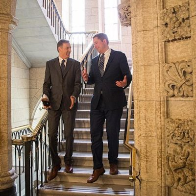 Also done like dinner in the aftermath of Andrew Scheer's resignation: Max Bernier