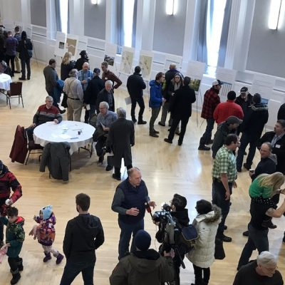 What gives? Polite crowd, no visible security, no official UCP critics at Edmonton open house for Bighorn Park proposal