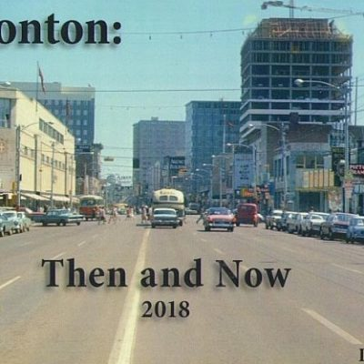 Photographer David Aaron's 'Edmonton Then and Now' tops Audreys Books non-fiction bestseller list