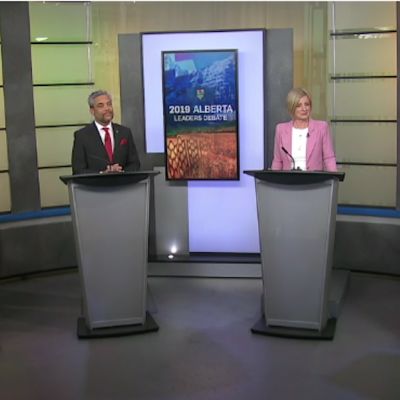 Rachel Notley and Jason Kenney escape relatively unscathed in Alberta election leaders' debate