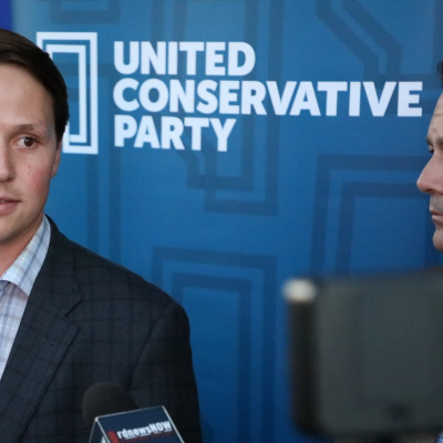 The UCP brain trust can explain that MAGA cap: Devin Dreeshen's here to help Canadians with Donald Trump!