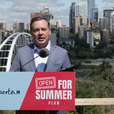 'Best Summer Ever' takes its toll on Jason Kenney as Alberta premier's approval rating tumbles