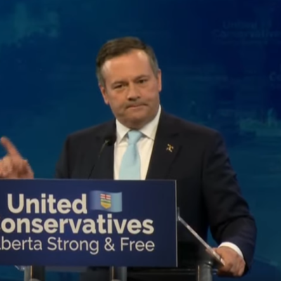 Jason Kenney, having delivered victory to his UCP, sounds like man with his eye on Ottawa