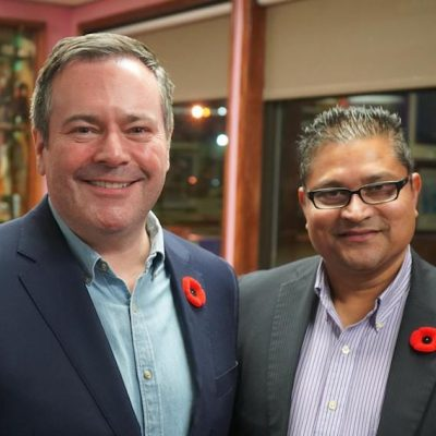 RCMP raid on UCP candidate's business, polling trends, hordes of advance voters wind up the Internet