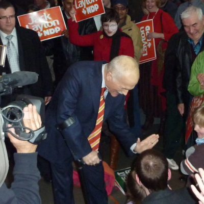 On the 10th anniversary of his death, from the vantage of Election 2021, happy memories of Jack Layton and the campaign of 2011