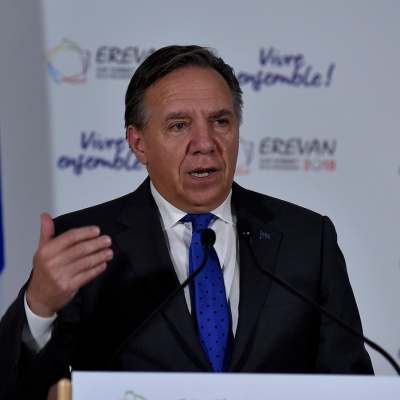 Quebec premier vows drive to slash oil use; Alberta premier calls climate worry 'flavour of the month'