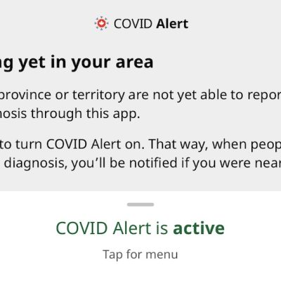 Activate the COVID Alert App in Alberta. Activate it right now!