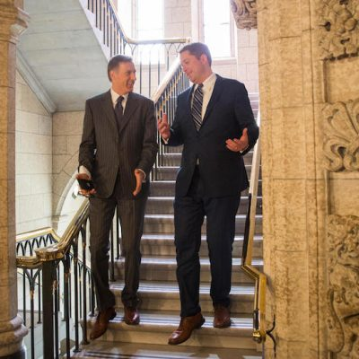Conservative Leader Andrew Scheer boots Maxime Bernier, self-appointed chief party ideologue, from Opposition front bench