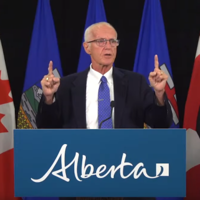 Education Minister's K-12 curriculum news conference by turns bizarre, deceptive, incoherent, and a comedy classic