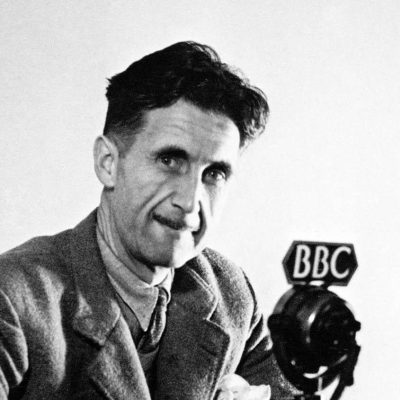 The clocks are striking thirteen and there's something in the air – Albertans seem to be reading George Orwell's 1984 again