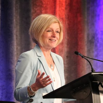 Rachel Notley sets out to do a little narrative building of her own about what Jason Kenney is up to, now that he's premier