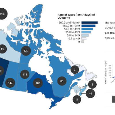 Alberta heads into record-breaking territory as new COVID-19 cases surpass second-wave record set in December