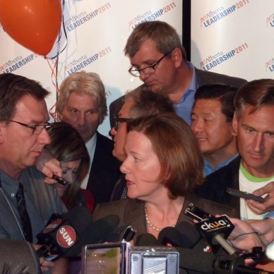 Alison Redford, chosen to lead Alberta's Conservatives a decade ago, doesn't look quite so bad in hindsight