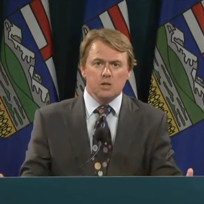 Bafflegab aplenty but few answers for Albertans at Health Minister Tyler Shandro's COVID-19 news conference