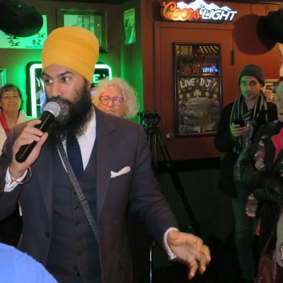 The stars of the NDP firmament are aligning today for someone in Burnaby South – it remains to be seen if it's Jagmeet Singh