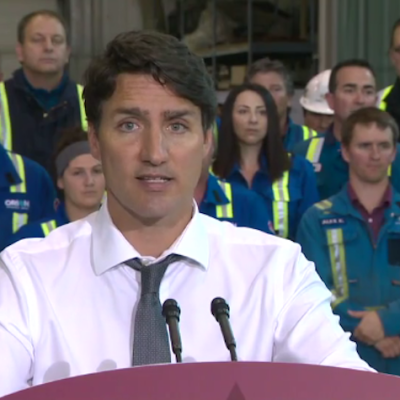 OK, he said nothing new, but why did Justin Trudeau's pipeline presser make Conservatives so angry?