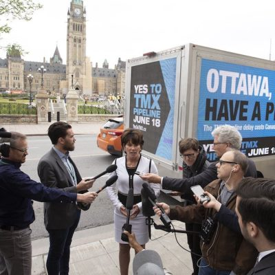 Is Alberta's 'Yes to TMX' campaign a sly tax-funded attack on the Trudeau Liberals?
