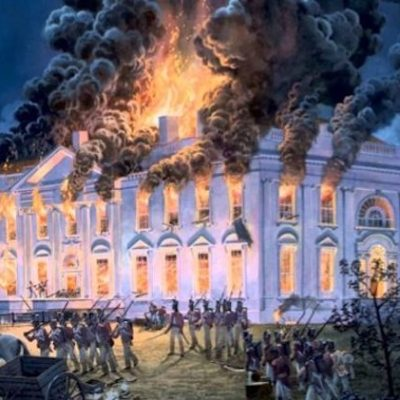 The Day We Burned Ole D.C. Down … I blame Stephen Harper for Canada's latest trade troubles!