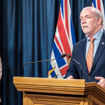 Riding high in the polls, B.C.'s New Democrat premier calls a snap election — the right, predictably, whinges